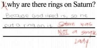 funny-test-answer-saturn-rings-single-ladies