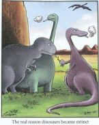 real reason dinos extinct