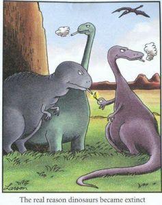 real reason dinos extinct
