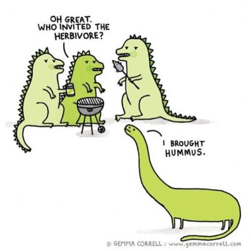 who invited the herbivore